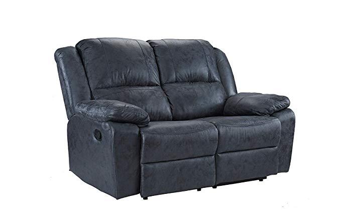 Casa Andrea Milano 56″ Air Leather Recliner Sofa