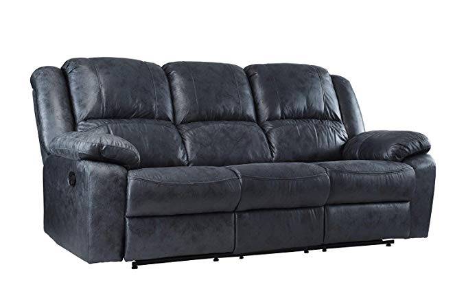 Casa Andrea Milano Oversize Air Leather Recliner Sofa
