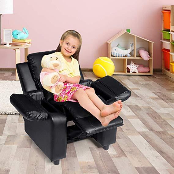 Costzon Convertible Children Recliner