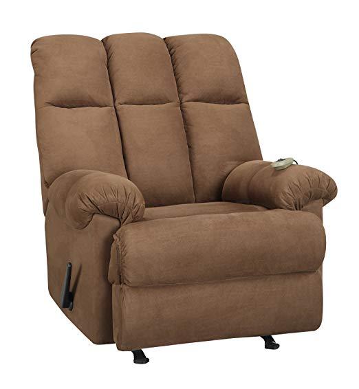 Dorel Living Padded Dual Massage Recliner Chair