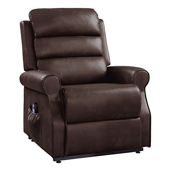 Homelegance 9859 Power Lift Massage Recliner Chair