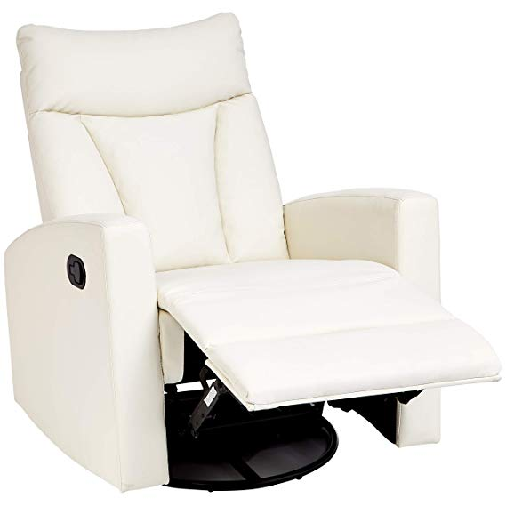 JC Home Javik Faux-Leather Recliner Chair