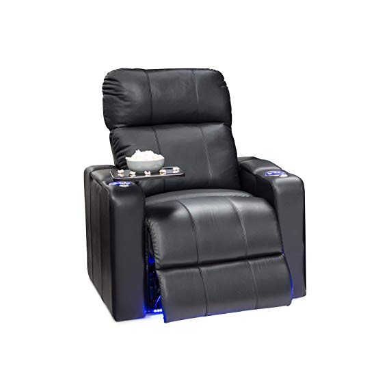 Seatcraft Monterey Electric Leather Recliner Chair