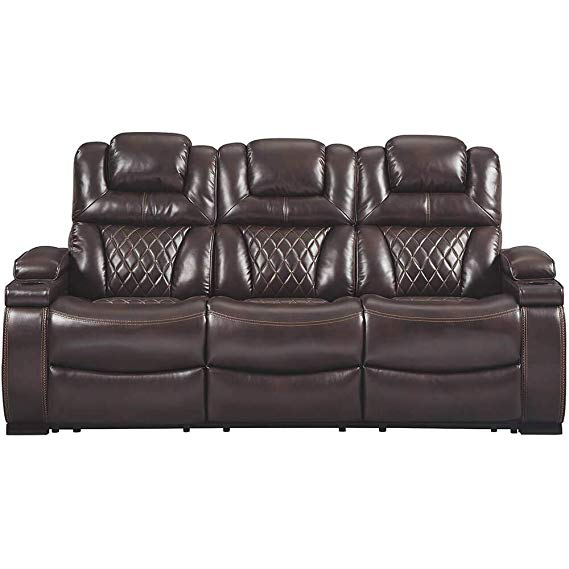 Ashley Furniture Signature Design Warnerton Power Sofa Recliner