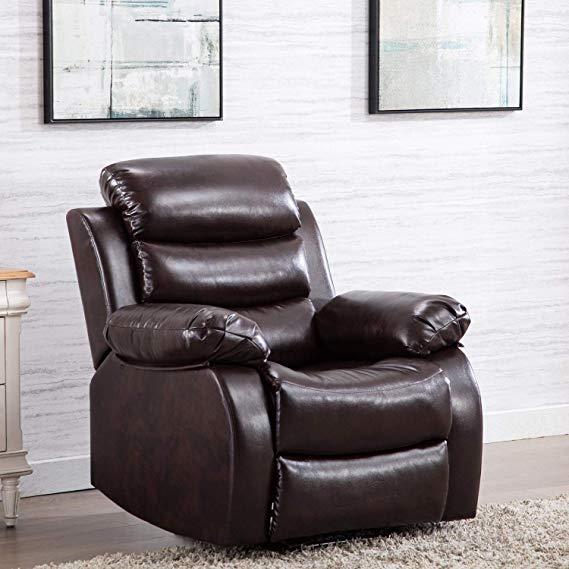 Harper & Bright Designs Leather Recliner
