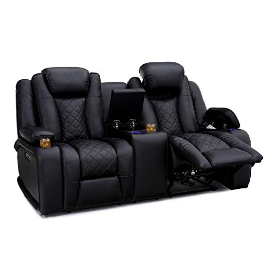 SeatCraft Europa Home Theater Loveseat Recliner